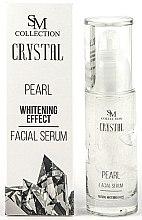 Kup PRZECENA! Perłowe serum wybielające do twarzy - SM Collection Crystal Pearl Facial Serum *