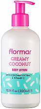 Kup Balsam do ciała Kremowy kokos - Flormar Coconut Body Lotion
