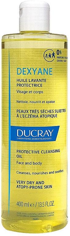 Ochronny olejek do mycia twarzy i ciała - Ducray Dexyane Protective Cleansing Oil — фото N1