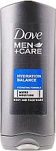Kup Nawilżający żel pod prysznic do twarzy i ciała dla mężczyzn - Dove Men+ Care Hydration Balance Shower Gel
