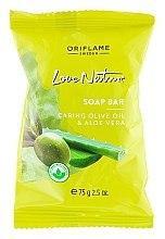 Kup Mydło w kostce Oliwa z oliwek i aloes - Oriflame Love Nature Olive Oil & Aloe Vera Soap Bar