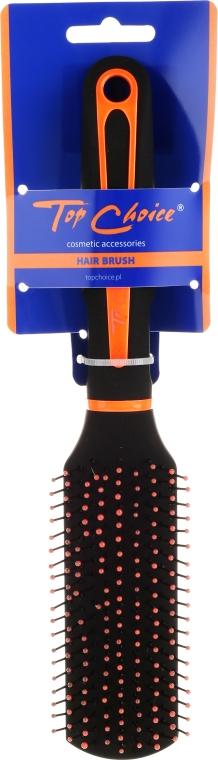 Szczotka do włosów, 63671 - Top Choice Neon Black&Orange — фото N1