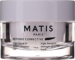 Kup Intensywnie nawilżająca żelowa maska do twarzy - Matis Reponse Corrective Night Reveal 10 Overnight Corrective Mask