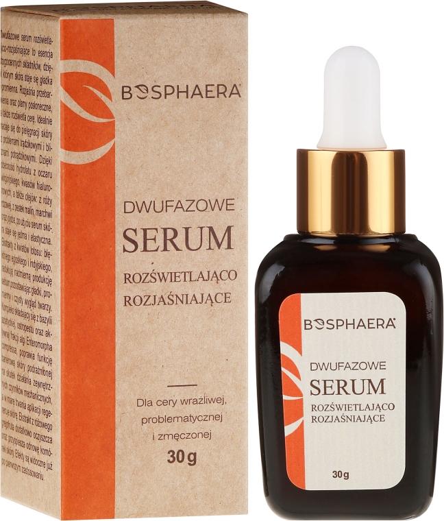 Dwufazowe serum rozświetlająco-rozjaśniające - Bosphaera