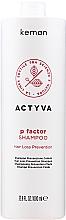 Kup Szampon stymulujący porost włosów - Kemon Actyva P Factor Shampoo