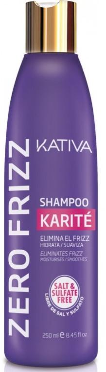 Wygładzający szampon do włosów - Kativa Zero Frizz Shampoo