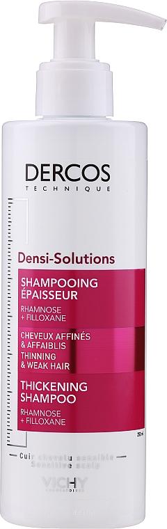 Szampon dodający objętości do włosów cienkich - Vichy Dercos Densi-Solutions Thickening Shampoo