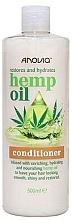 Kup Odżywka do włosów z olejem konopnym - Anovia Hemp Oil Conditioner Restores and Hydrates