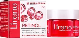 Kup Naprawczy krem przeciwzmarszczkowy na dzień i noc Retinolowe odżywienie 70+ - Lirene Pielęgnacja odmładzająca