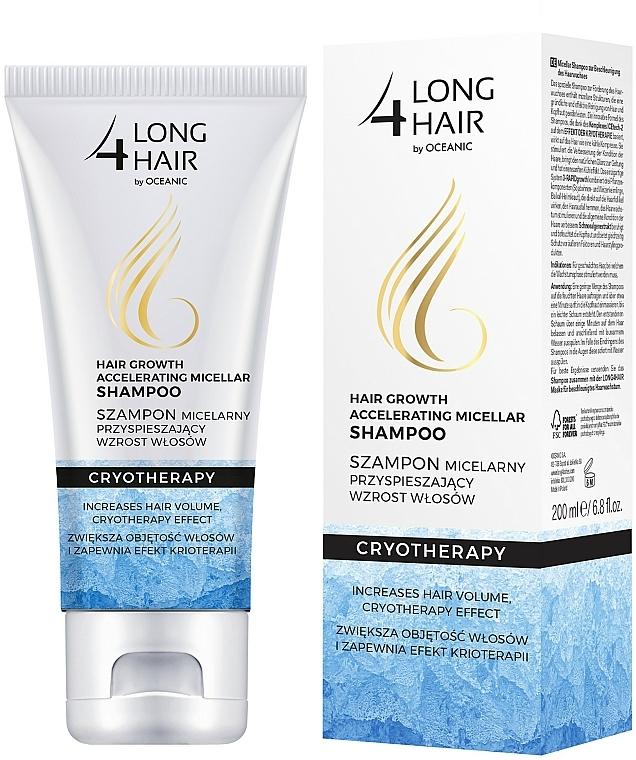 Szampon przyspieszający wzrost włosów - Long4Lashes Hair Efekt Krioterapii