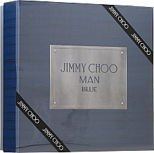 Kup Jimmy Choo Man Blue - Zestaw (edt 100 ml + ash/balm 100 ml + edt 7,5 ml)