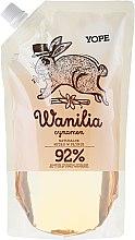 Kup Naturalne mydło w płynie - Yope Wanilia i cynamon (uzupełnienie)