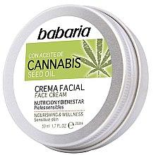 Kup Krem do twarzy z olejem konopnym - Babaria Cannabis Seed Oil Face Cream