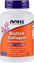 Kup Kolagen hydrolizowany typu 2 - Now Foods BioCell Collagen Hydrolyzed Type II