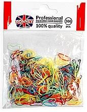 Kup Silikonowe gumki do włosów, kolorowe - Ronney Professional Silicone Hair Bands