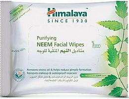 Kup Oczyszczające chusteczki do twarzy - Himalaya Purifying Neem Facial Wipes