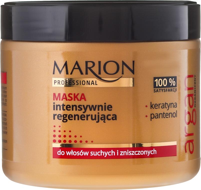 Intensywnie regenerująca maska do włosów suchych i zniszczonych - Marion Professional Argan Mask