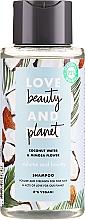 Kup Szampon nadający włosom objętości Woda kokosowa i mimoza - Love Beauty&Planet Coconat Water & Mimosa Flower