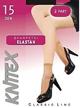 Kup Skarpety damskie Elastil 15 DEN, 2 pary, nero - Knittex