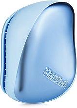 Kup Kompaktowa szczotka do włosów - Tangle Teezer Compact Styler Sky Blue Delight Chrome