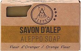 Kup Naturalne mydło aleppo w kostce Kwiat pomarańczy - Aleppo Soap Orange Flower Laurel Bay Oil 8%