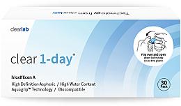 Kup PRZECENA! Soczewki kontaktowe jednodniowe, 30 szt. - Clearlab Clear 1-Day *