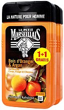Kup Zestaw dla mężczyzn - Le Petit Marseillais Orange Tree And Shampoo Argan Shower Gel (2 x shm/gel 250 ml)