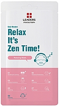 Kup Maseczka relaksacyjna do twarzy - Leaders Daily Wonders Relax It's Zen Time!