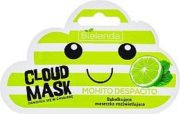 Bąbelkująca maseczka rozświetlająca Mohito Despacito - Bielenda Cloud Mask — фото N1