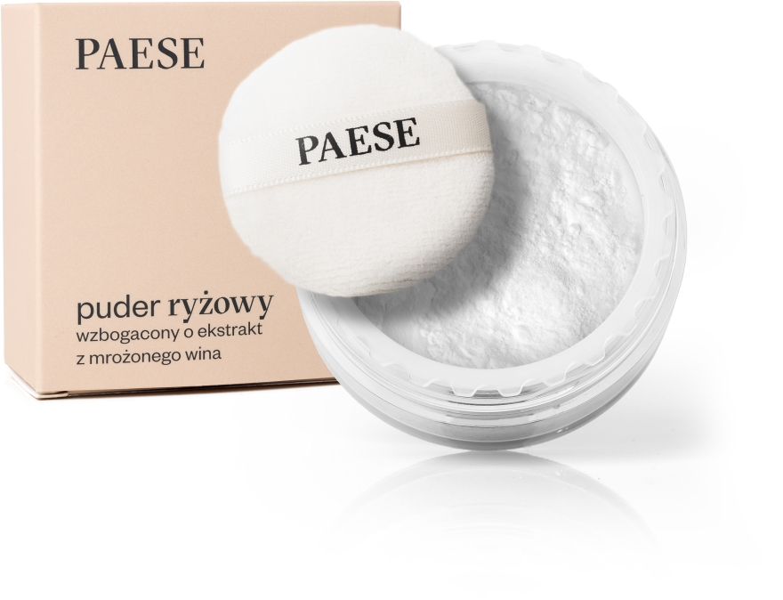 Puder ryżowy z ekstraktem z mrożonego wina - Paese Rice Powder With Ice Wine