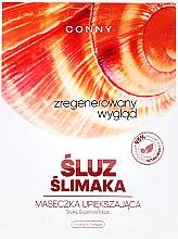 Kup Regenerująca maseczka upiększająca z ekstraktem ze śluzu ślimaka - Conny Snail Essence Mask