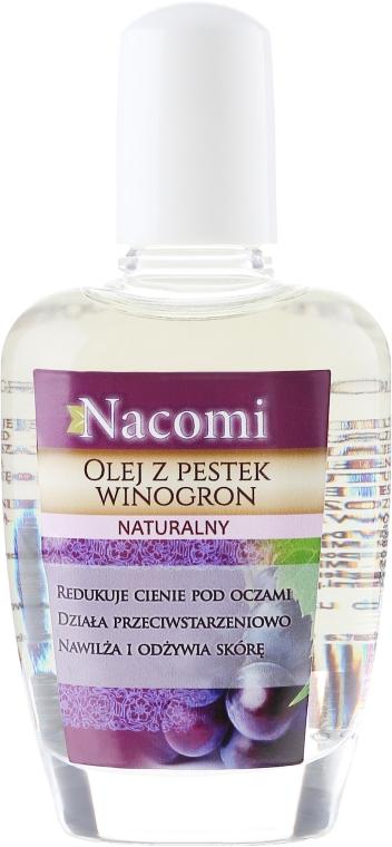 Olej z pestek winogron - Nacomi Grape Seed Oil