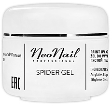 Kup PRZECENA! Żel do paznokci - NeoNail Professional Spider Gel *