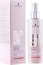 Kup Spray do delikatnej koloryzacji włosów - Schwarzkopf Professional BlondMe Instant Blush Spray