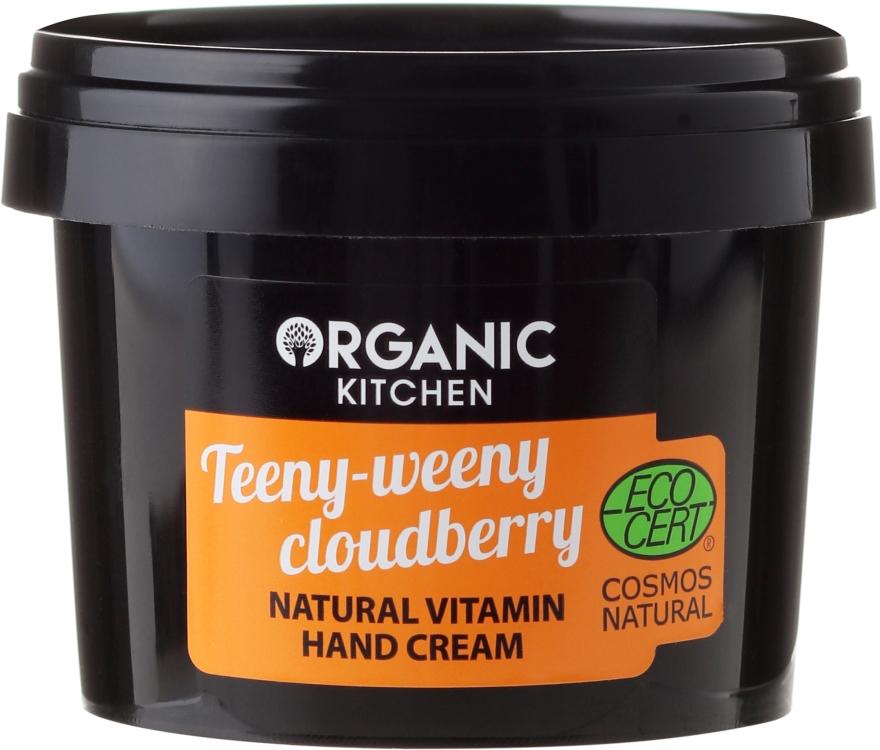 Naturalny krem do rąk - Organic Shop Organic Kitchen Teeny-Weeny Cloudberry Hand Cream
