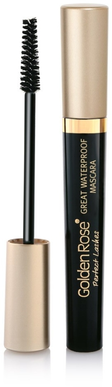 Tusz do rzęs - Golden Rose Perfect Lashes Great Waterproof Mascara