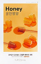 Kup Odżywcza maska na tkaninie do twarzy - Missha Airy Fit Sheet Mask Honey