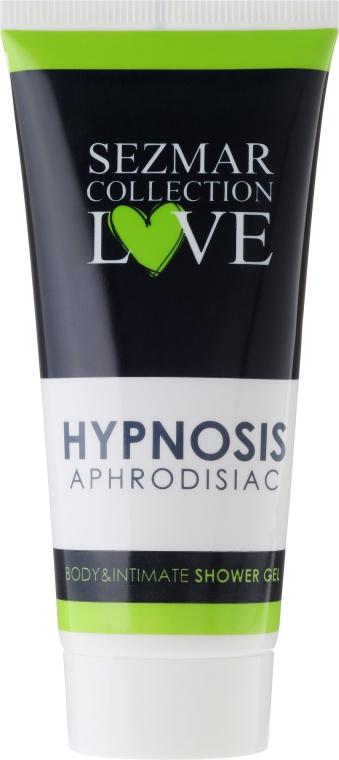 Naturalny żel pod prysznic do ciała i okolic intymnych z afrodyzjakami Hipnoza - Sezmar Collection Love Hipnoza Aphrodisiac Body & Intymna Shower Gel (tubka) — фото N1