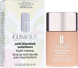 Kup PRZECENA! Podkład w kremie korygujący niedoskonałości skóry - Clinique Anti-Blemish Solutions Liquid Makeup *