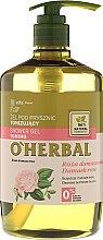 Kup Tonizujący żel pod prysznic z ekstraktem z róży damasceńskiej - O'Herbal Toning Shower Gel