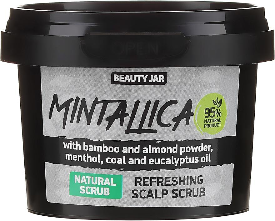 Orzeźwiający peeling do skóry głowy - Beauty Jar Mintallica Refreshing Scalp Scrub