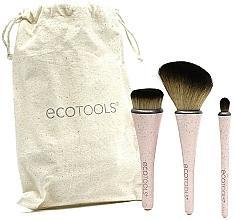 Kup Zestaw pędzli do makijażu - EcoTools Travel Brush Kit (brush 3 pcs + bag)