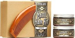 Kup Zestaw - Apothecary 87 Matte Hair Kit (pomade/100ml + paste/100ml + brush)