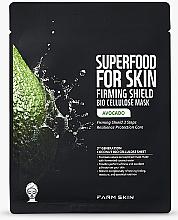 Kup Nawilżająca maseczka w płachcie do twarzy Awokado - Superfood For Skin Firming Shield Bio Cellulose Mask With Avocado