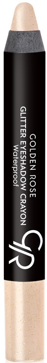 Brokatowy cień do powiek w kredce - Golden Rose Glitter Eyeshadow Crayon Waterproof