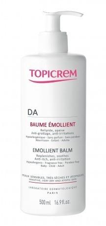 Zmiękczający balsam emolientowy do twarzy i ciała - Topicrem DA Emollient Balm  — фото N4