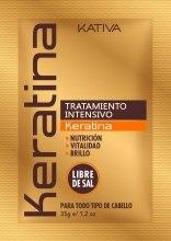 Kup Nawilżająca maseczka do włosów z keratyną - Kativa Keratina Intensive Treatment