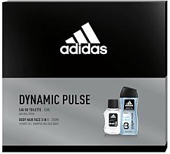 Kup Adidas Dynamic Pulse - Zestaw (edt 50 ml + sh/gel 250 ml)