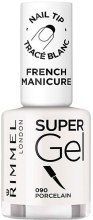 Kup Żelowy lakier do paznokci - Rimmel Super Gel French Manicure