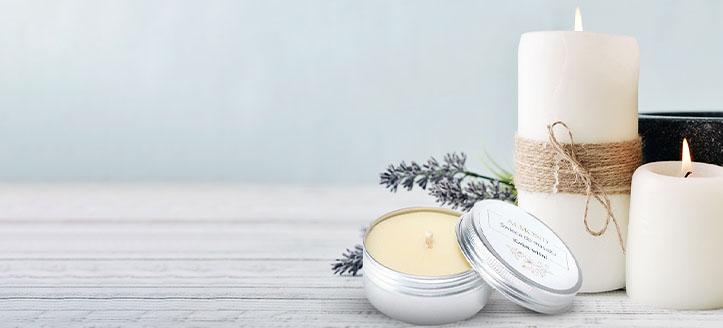Zniżka 20% na naturalne świece do masażu Almond Cosmetics. Сeny uwzględniają zniżkę.